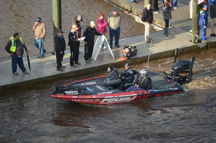 Bassmaster Elite Series Boat Launch
